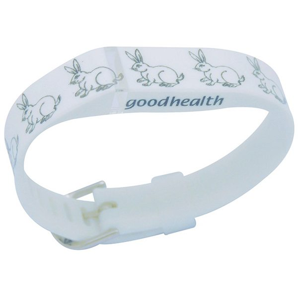 2015 Newest Animal Pattern Replacement Band for Fitbit Flex with Aluminum Clasp (Rabbit Pattern)
