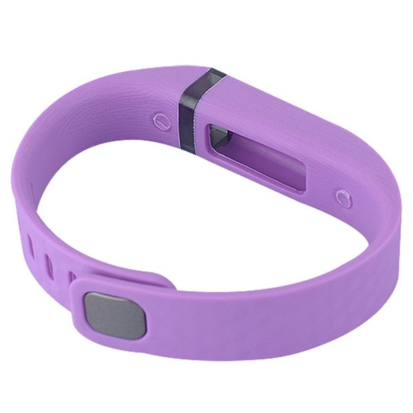3D Glowing Style Replacement Wristband for Fitbit Flex with Metal Clasp (Purple)