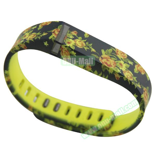 Cheap Smart Replacement Wristband for Fitbit Flex with Kirsite Clasp (Camouflage  Pattern Two)