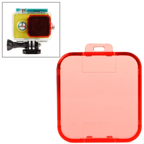 New Coming Snap-on Dive Filter Housing for Xiaomi Xiaoyi (Red)