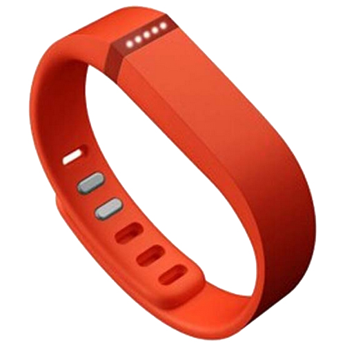 Multi Colors Replacement Wristband for Fitbit Flex with Metal Clasp (Orange)