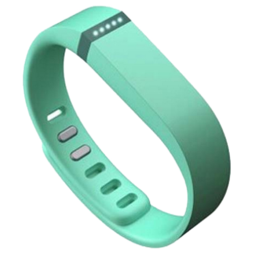 Multi Colors Replacement Wristband for Fitbit Flex with Metal Clasp (Green)