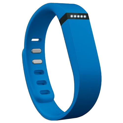 Multi Colors Replacement Wristband for Fitbit Flex with Metal Clasp (Light Blue)