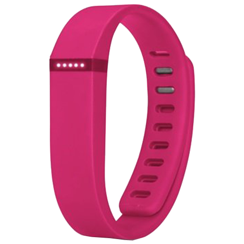 Multi Colors Replacement Wristband for Fitbit Flex with Metal Clasp (Rose)