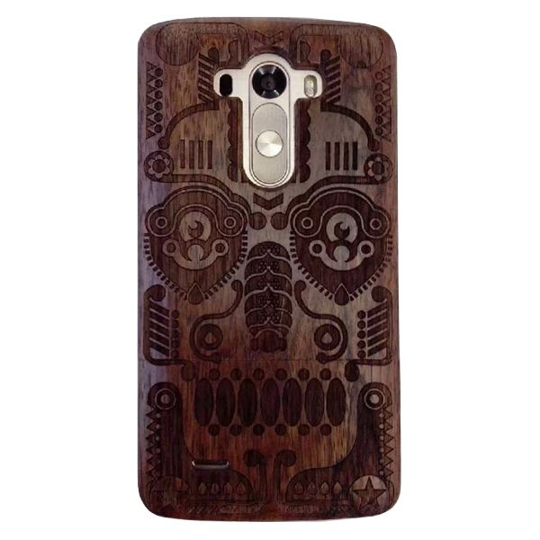 Unique Design Protective Hard Separable Wood Case for LG G3 (Unique Image Pattern)
