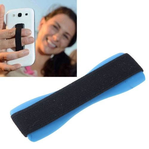 Finger Grip Phone Holder for iPhone 6/ 6 Plus/ iPhone 5/ 5S/ Samsung Galaxy S6/ S5/ Note 4/ 3/ 2/ HTC/ LG (Blue)