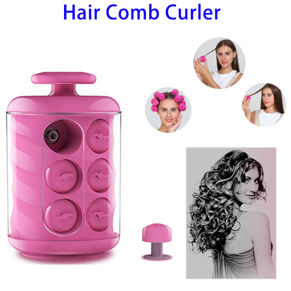 Fashion Magic Hair Care Automatic Hair Comb Curler