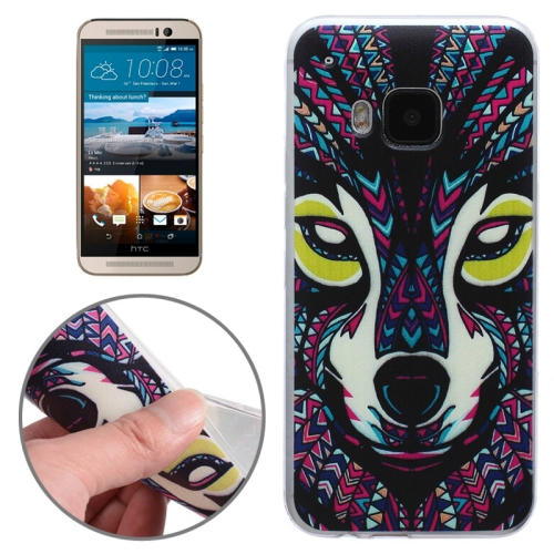 Ultrathin Soft TPU Protective Case for HTC One M9 (Animal Pattern)