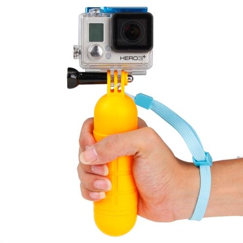 Antiskid Floating Handle Bobber Hand Grip with Strap for GoPro HERO4 /3+ /3 /2 /1