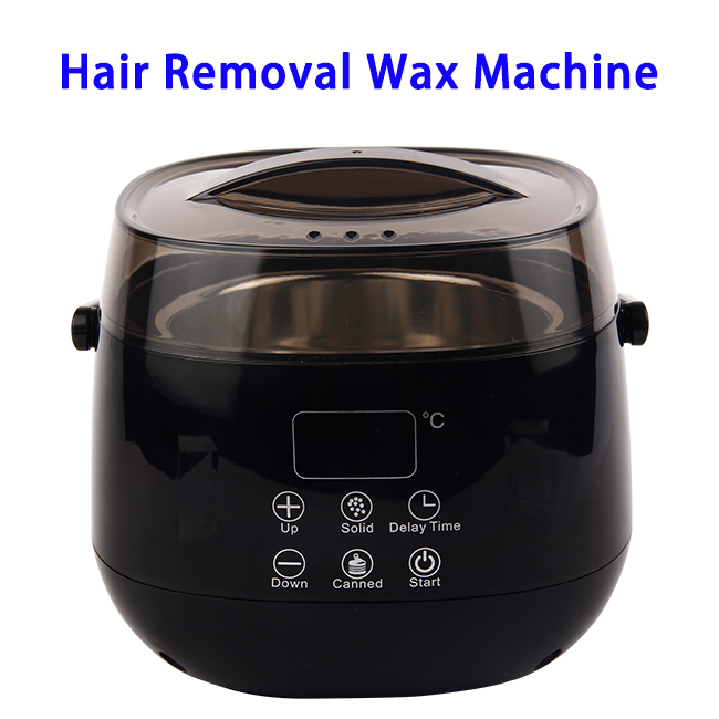 Smart Wax Warmer Thermal Machine for Body Hair Removal Depilatory Wax (Black)