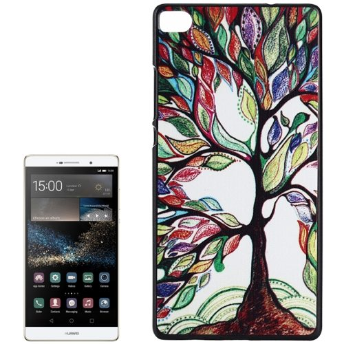 PC Ultra Slim Hard Back Case Protective Cover for Huawei Ascend P8 Smartphone (Tall Tree)