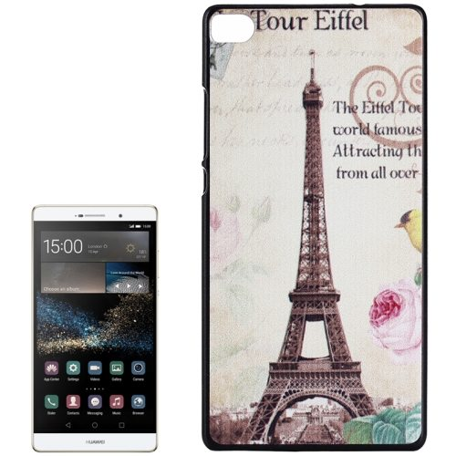 PC Ultra Slim Hard Back Case Protective Cover for Huawei Ascend P8 Smartphone (Tower)