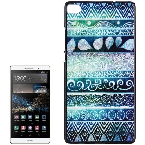 PC Ultra Slim Hard Back Case Protective Cover for Huawei Ascend P8 Smartphone (Tribal)