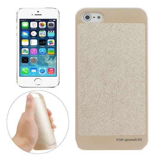 Trapezoid Pattern Frosted Paste Skin PC Protective Case for iPhone 5 & 5S (Pattern 2)