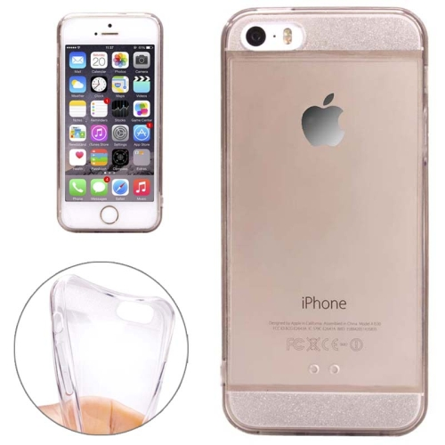 Ultra Thin Transparent Soft TPU Phone Case Cover for iPhone 5/ 5S (Clear)
