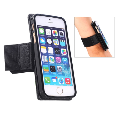 Sports Armband Case for iPhone 5/5S with Detachable 2 in 1 Magnet Style
