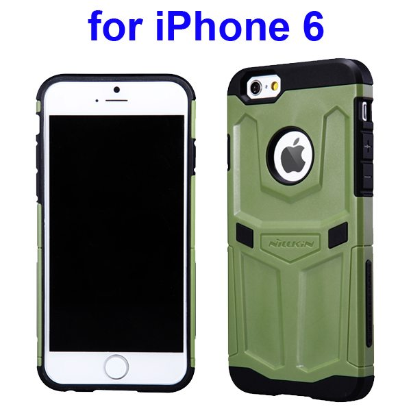 Nillkin Defender Series Hybrid Silicone and PC Case for iPhone 6 (Green)