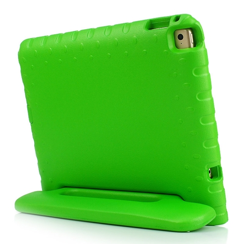 Lightweight EVA Foam Shockproof Protective Cover for iPad Air 2 / iPad 6 with Handle and Stand (Green)