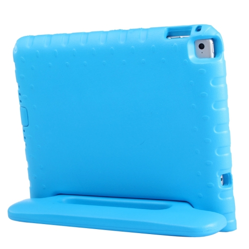 Lightweight EVA Foam Shockproof Protective Cover for iPad Air 2 / iPad 6 with Handle and Stand (Blue)