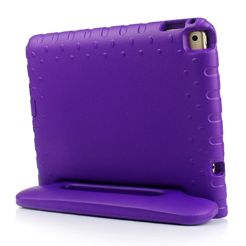 Lightweight EVA Foam Shockproof Protective Cover for iPad Air 2 / iPad 6 with Handle and Stand (Purple)
