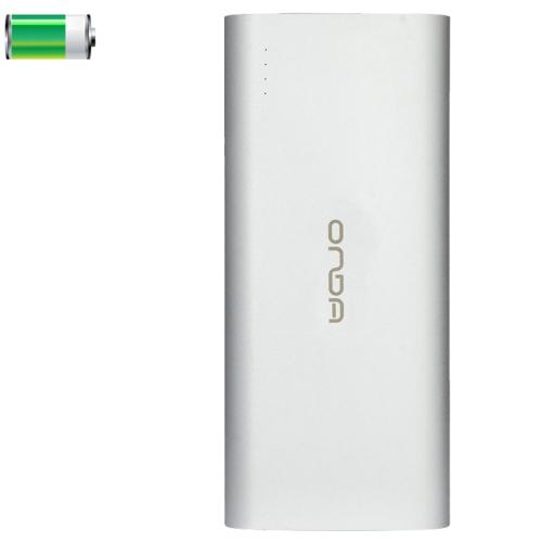 ONDA V130 13000mAh Portable High Capacity Rechargeable USB External Battery Power Bank (Silver)