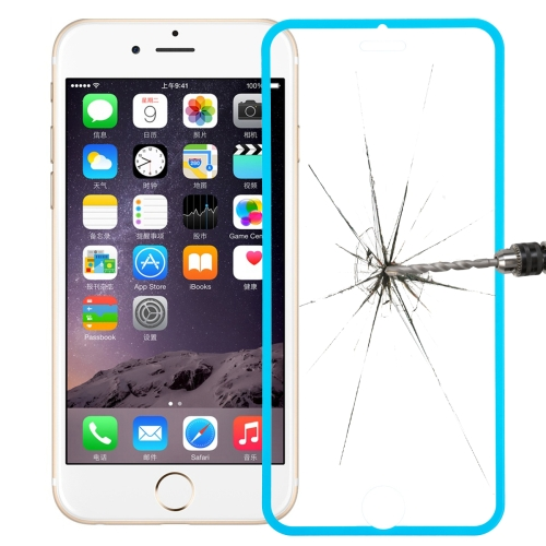 Link Dream Premium 0.33mm Tempered Glass Screen Protector with Holder for iPhone 6 (Green)