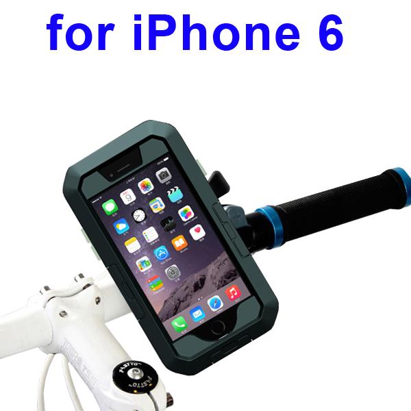 Newest Item Outdoor Sports Waterproof Case Bike Mount Holder for iPhone 6 (Black)