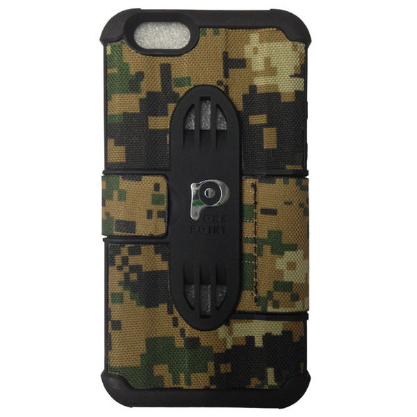 Fashionable Design Camouflage Embossing Leather Case Cover for iPhone 6 (Pattern 4)