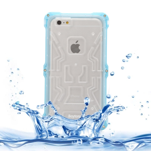 IPX6 Waterproof Dusproof Shockproof Protective Case for iPhone 6 Plus (Blue)
