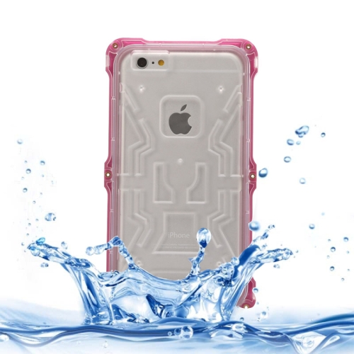 IPX6 Waterproof Dusproof Shockproof Protective Case for iPhone 6 Plus (Purple)