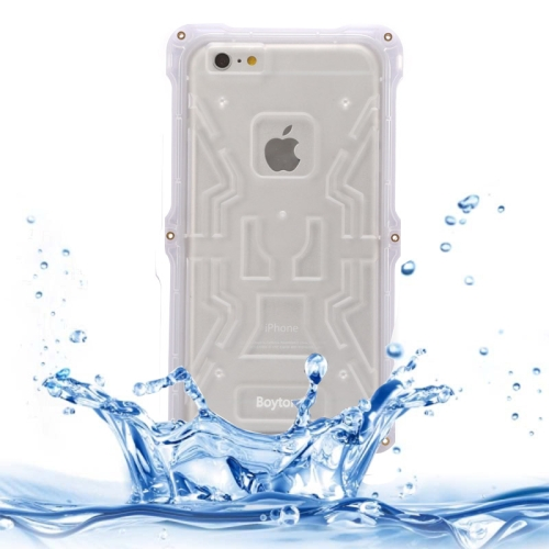 IPX6 Waterproof Dusproof Shockproof Protective Case for iPhone 6 Plus (White)