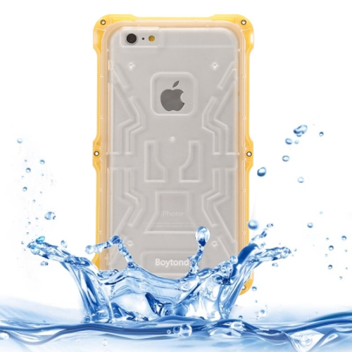 IPX6 Waterproof Dusproof Shockproof Protective Case for iPhone 6 Plus (Yellow)