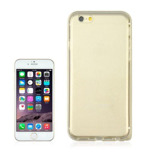 2 in 1 TPU + Ultra-thin Aluminium Alloy Frame case for iPhone 6 Plus (Gold)
