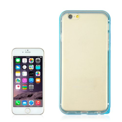 Angibabe 4.7 Inch 2 in 1 TPU + Ultra-thin Aluminium Alloy Frame case for iPhone 6 (Light Blue)