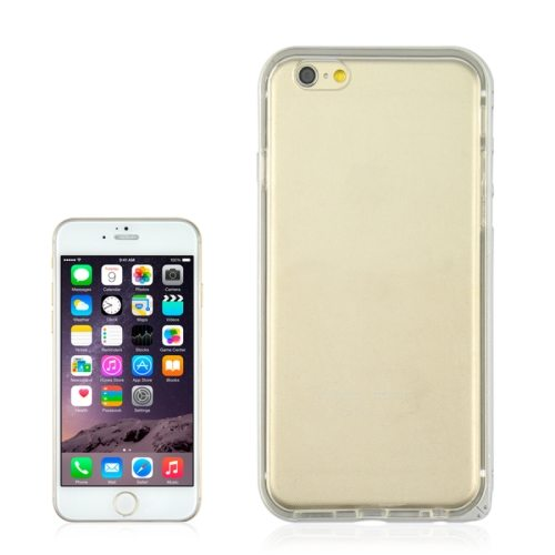 Angibabe 4.7 Inch 2 in 1 TPU + Ultra-thin Aluminium Alloy Frame case for iPhone 6 (White)
