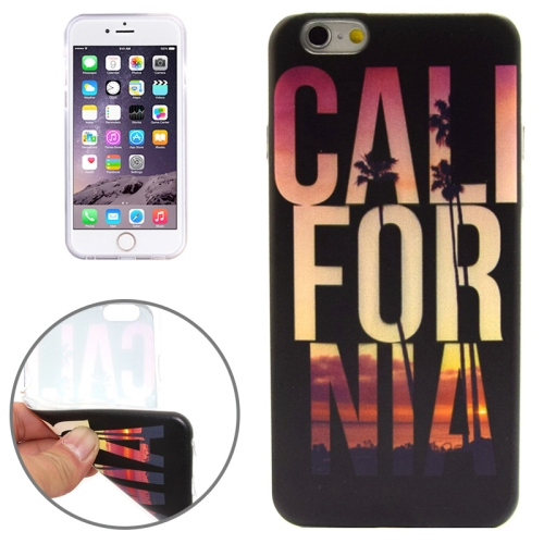 CALL FOR NIA Pattern Soft TPU Protective Case for iPhone 6 Plus