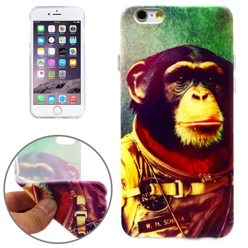 Orangutan Pattern Soft TPU Protective Case for iPhone 6 Plus