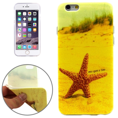 Stelleroid Pattern Soft TPU Protective Case for iPhone 6 Plus