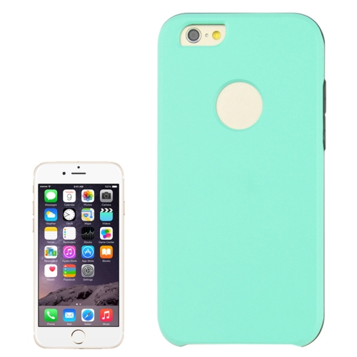 2 In 1 Pattern Touch Screen Front Cover and Frosted TPU Hybrid Case for iPhone 6 Plus (Green)