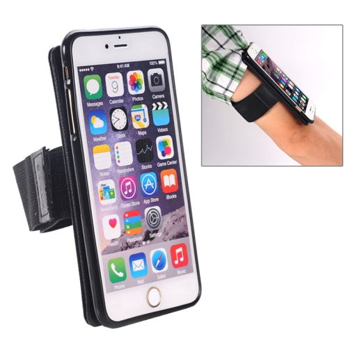 2 in 1 Pattern Detachable Magnet Sports Armband Case for iPhone 6 Plus