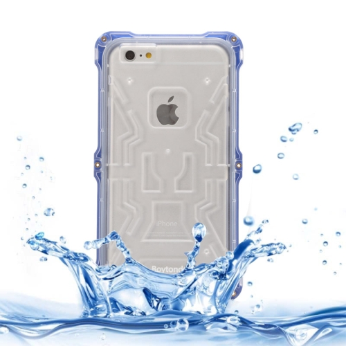 IPX6 Waterproof Dusproof Shockproof Protective Case for iPhone 6 (Dark Blue)