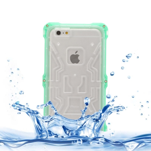 IPX6 Waterproof Dusproof Shockproof Protective Case for iPhone 6 (Green)