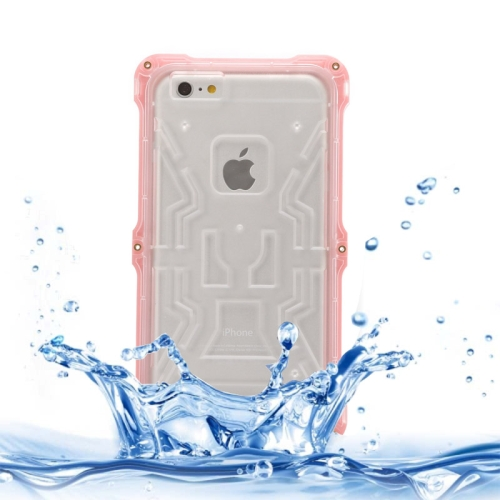 IPX6 Waterproof Dusproof Shockproof Protective Case for iPhone 6 (Pink)