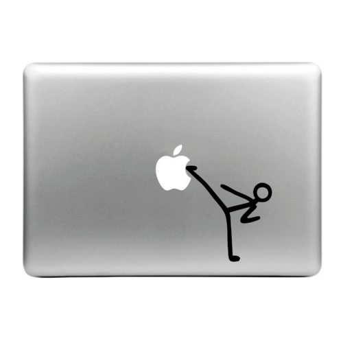 Nice Hat-Prince Kick Apple Pattern Decorative Skin Sticker for MacBook Air / Pro / Pro with Retina Display