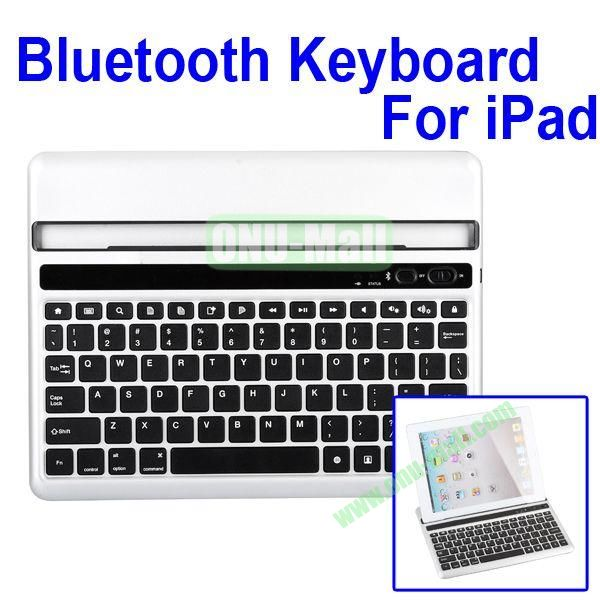 Silver Portable Drawer Style Bluetooth Keyboard For iPad 2 / the New iPad / iPad 4