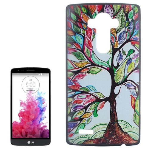 Creative Designs Protective Hard Plastic Case for LG G4 (Tree Pattern)