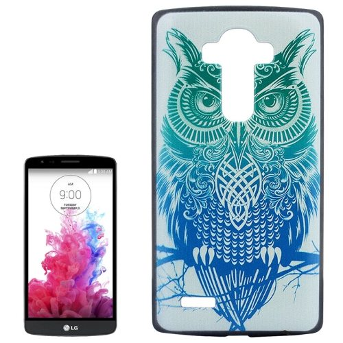 Creative Designs Protective Hard Plastic Case for LG G4 (Owl Pattern)