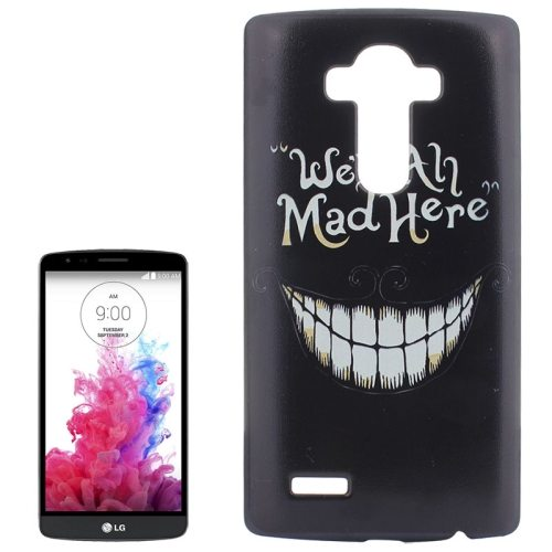 Creative Designs Protective Hard Plastic Case for LG G4 (Smiling Teeth Pattern)