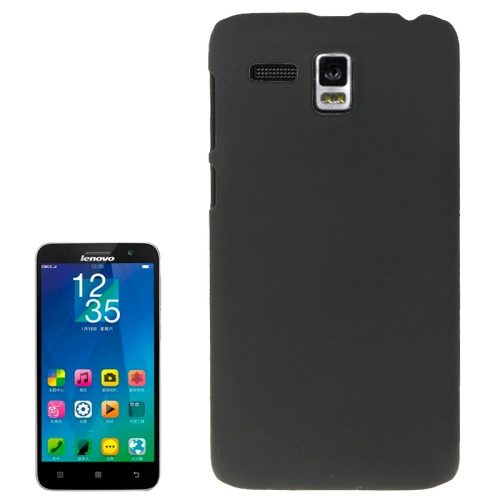 Frosted Protective Hard Plastic Cover for Lenovo A806/ A808T/ A808T-i (Black)