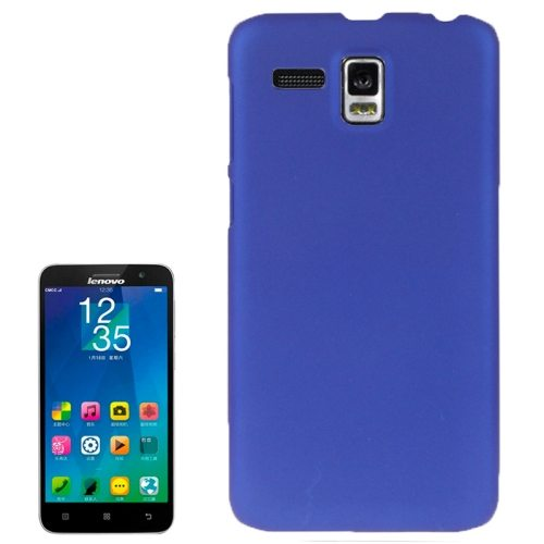 Frosted Protective Hard Plastic Cover for Lenovo A806/ A808T/ A808T-i (Dark Blue)